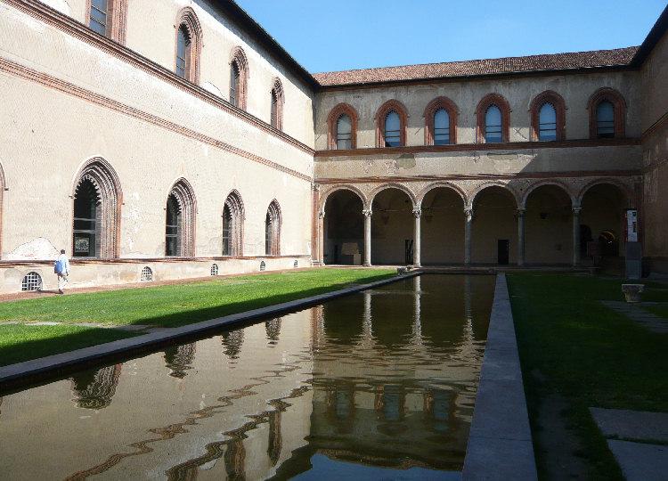 Castello Sforzesco la Corte Ducale