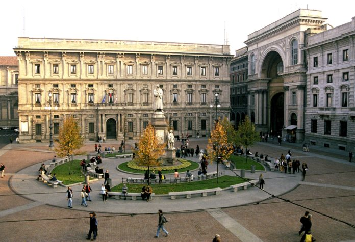 Il Palazzo Marino di Milano