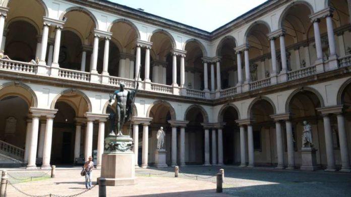 La Pinacoteda di Brera Milano