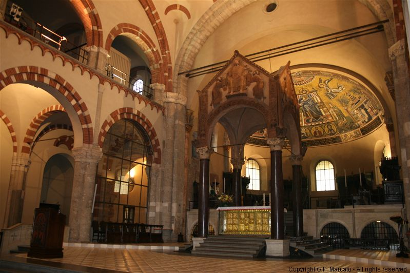 L'altare d'oro della Basilica di Sant'Ambrogio