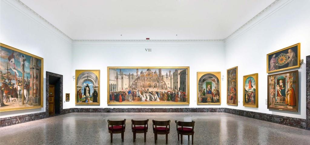 Le opere esposte alla Pinacoteca di Brera a Milano