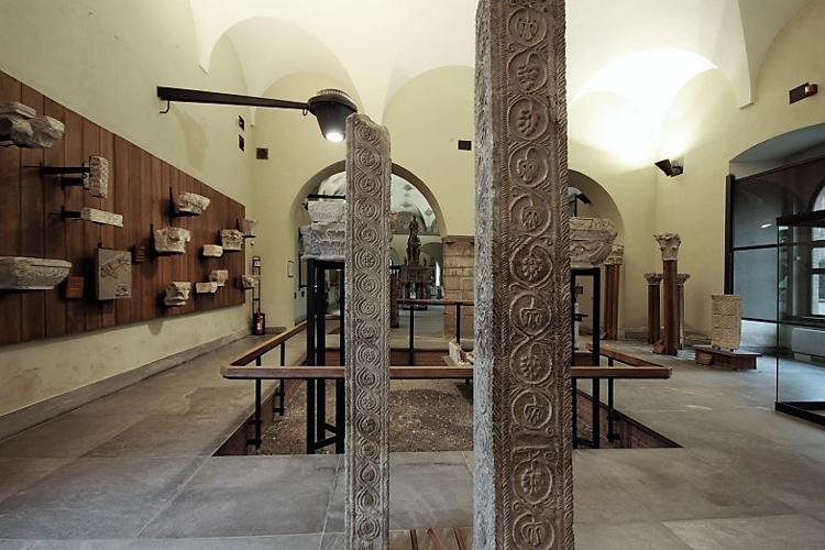Museo arte antica del Castello Sforzesco di Milano