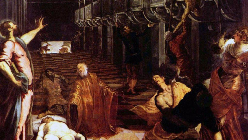 Ritrovamento del Corpo di San Marco, Tintoretto