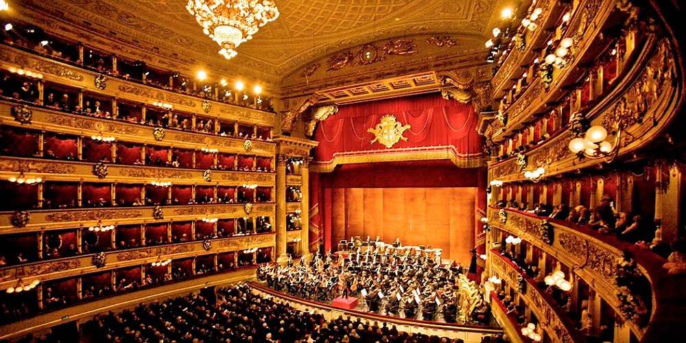 Teatro alla Scala interni