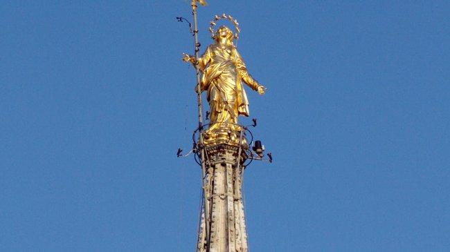 guglia Madonnina Duomo Milano