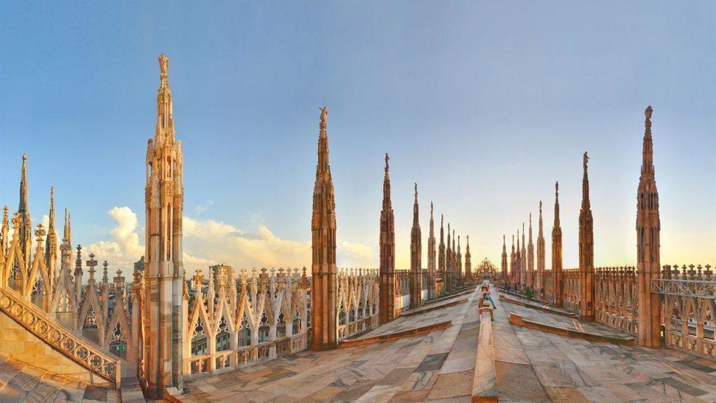 terrazza del Duomo di Milano