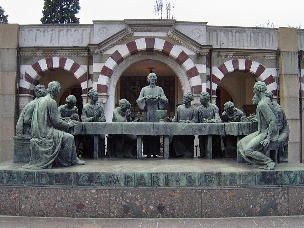 Tomba Davide Campari al Cimitero Monumentale