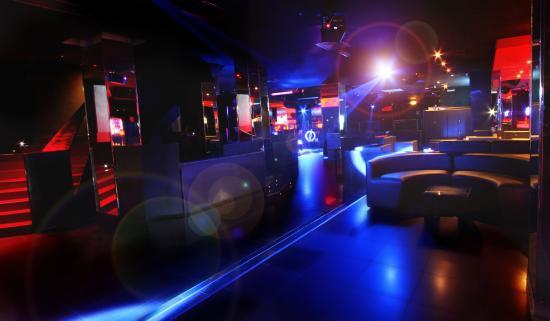 interni della discoteca The Club Milano