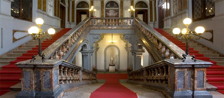 interno del Palazzo Litta di Milano