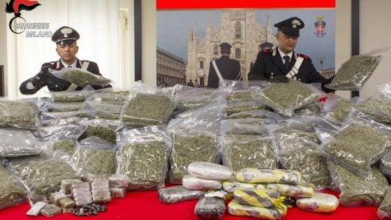 sequestro di marijuana e hashish