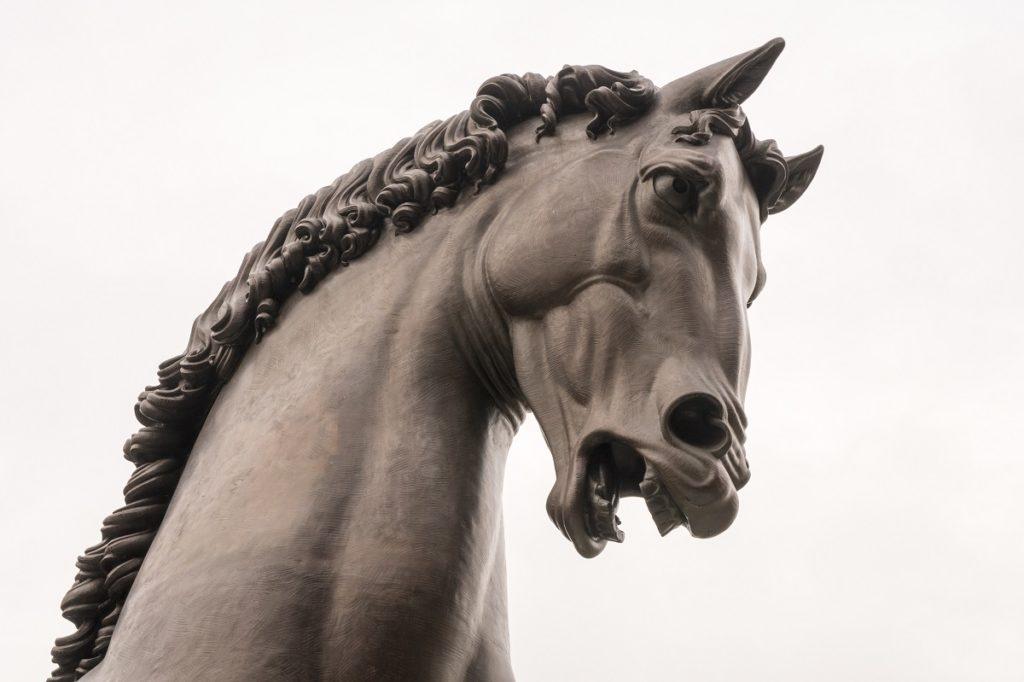 Statua Cavallo di Leonardo Milano