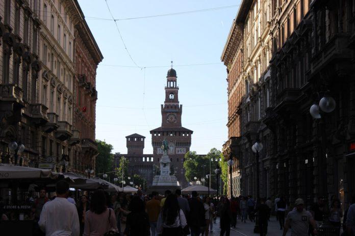 Parco Sempione vista Castello
