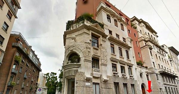 Palazzo Sola-Busca Milano, il quadrilatero del silenzio