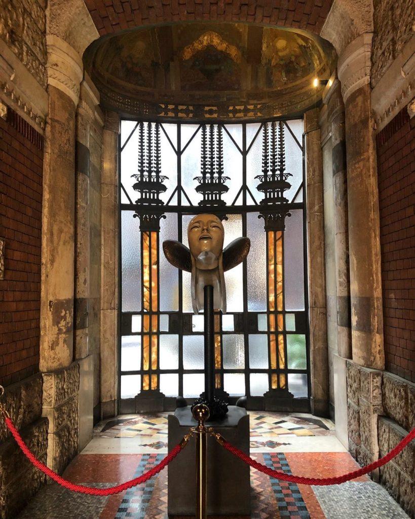 Interni del Palazzo Berri Meregalli