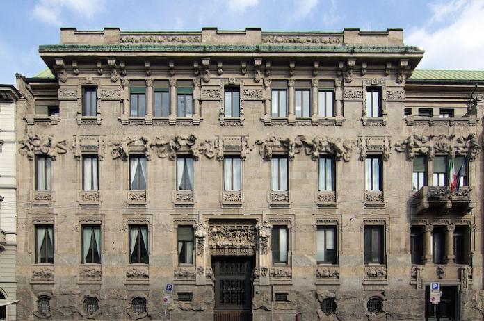 Il Palazzo Castiglioni a Milano