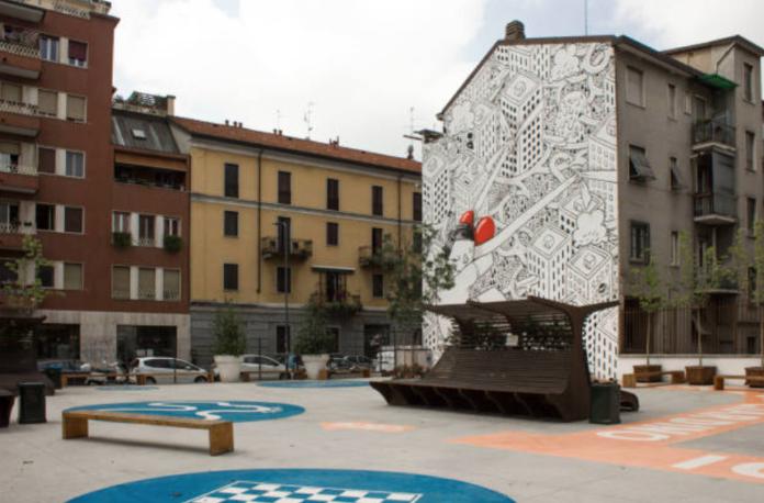 Street art Milano Isola