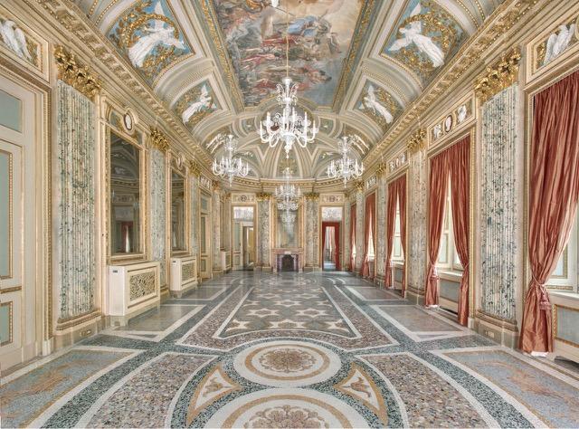 Interni del Palazzo Belgioioso di Milano