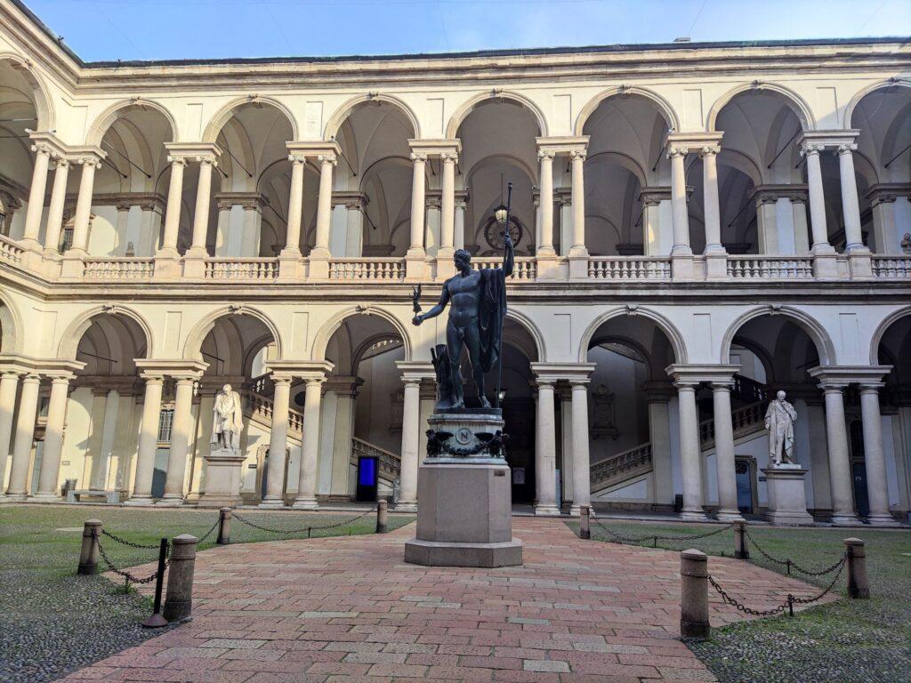 Ingresso Palazzo Brera Milano Pinacoteca