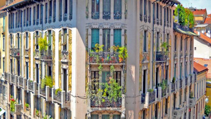 Casa Galimberti a Milano