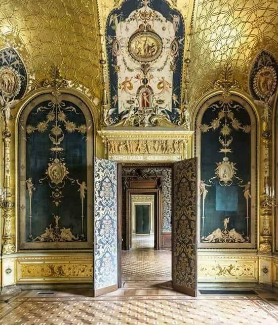 Palazzo Turati come si presenta all'interno