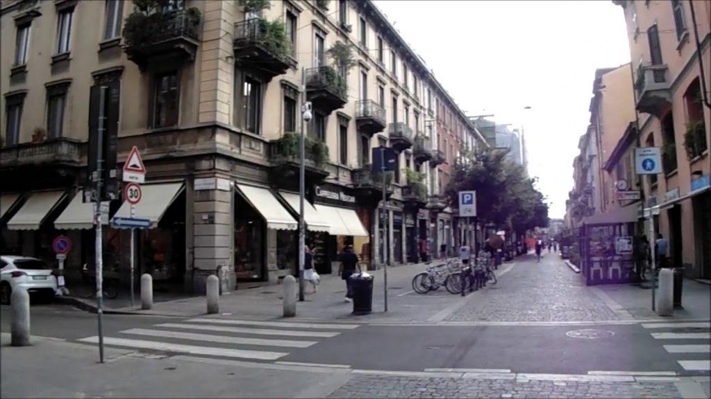 ingresso di via Paolo Sarpi quartiere Chinatown