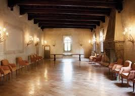 interni della Villa Bicocca degli Arcimboldi a Milano