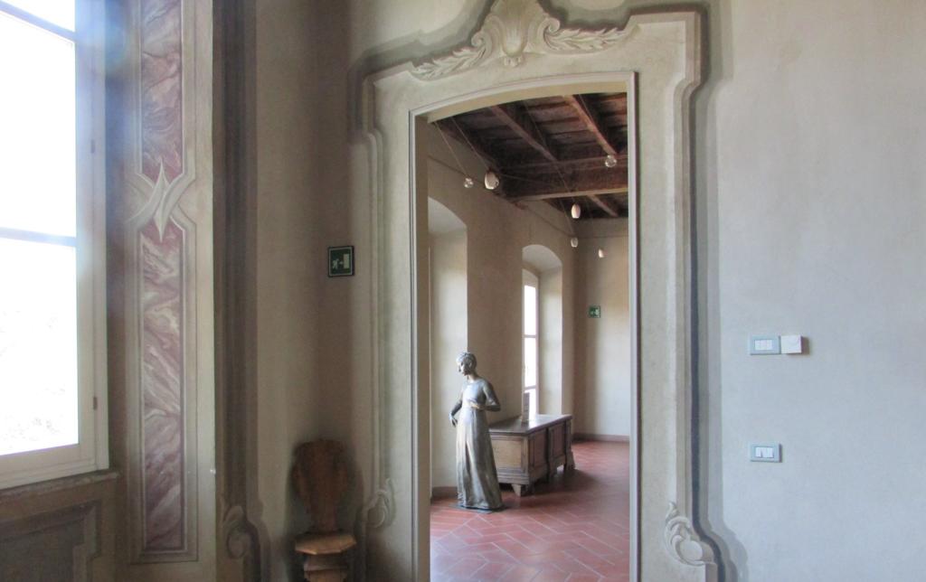 interni di Villa Clerici a Milano