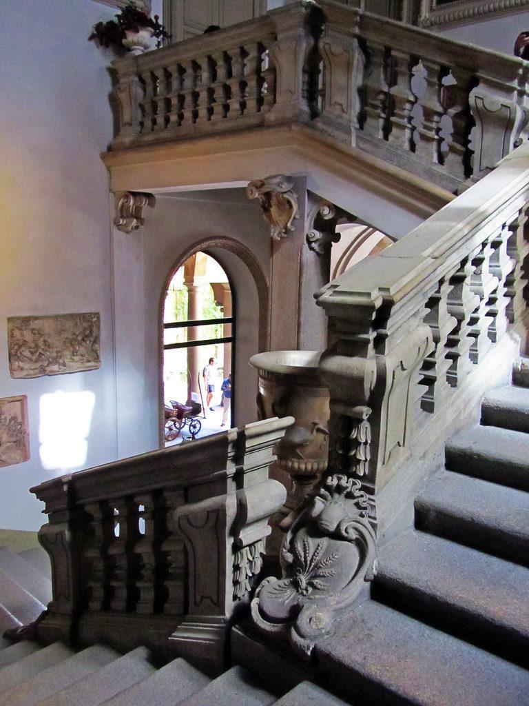interno del Palazzo Trivulzio a Milano