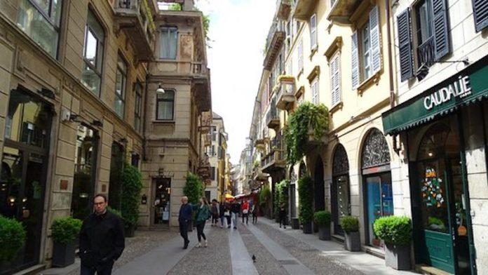 quartiere Brera di Milano