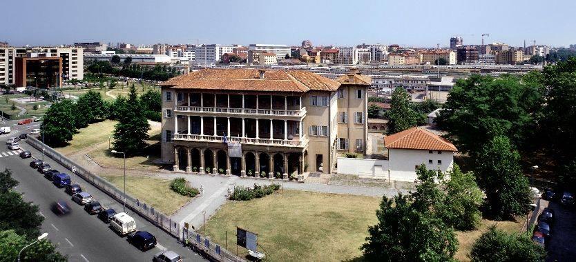 vista panoramica di Villa Simonetta a Milano