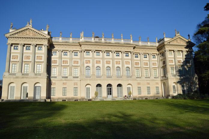 Giardino della Villa di Belgiojoso Bonaparte Milano