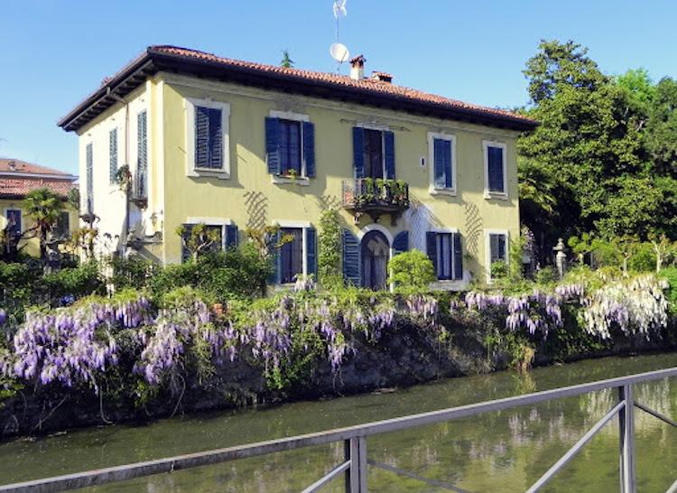 Crescenzago, la villa De Ponti