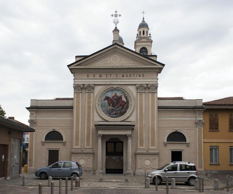 La chiesa San Martino nel quartiere Villapizzone