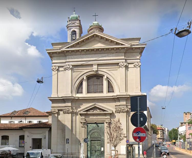 Santa Maria della Vittoria in via De Amicis Milano