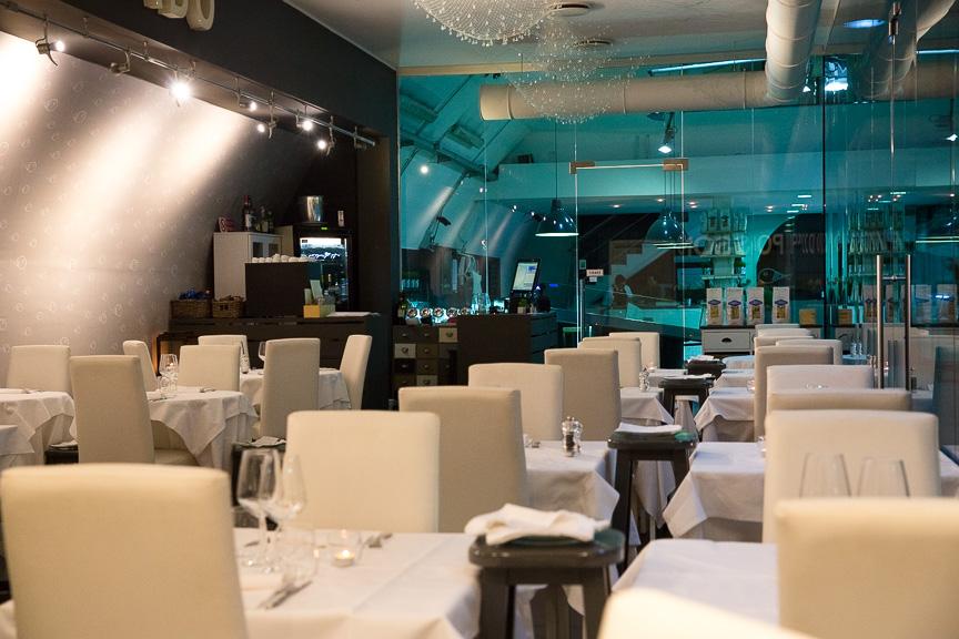 Mercato del pesce a Milano