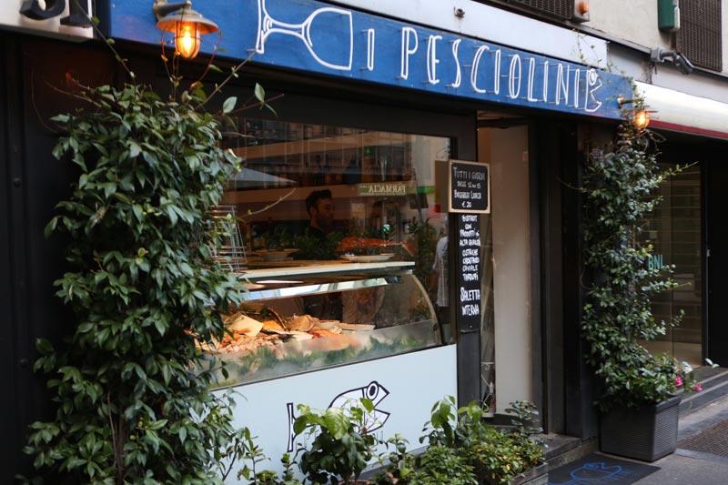 Pesciolini a Milano