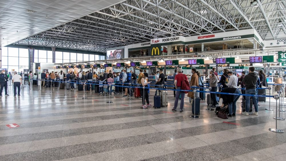 Terminal 1 di Malpensa biglietteria